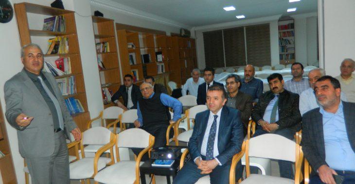16.11.2016 GÜNÜ PROF. DR. BAYRAM MURAT ASMA MALATYA VE KAYISI SEMİNERİNİ SUNDU.