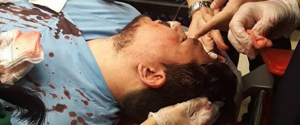 Dr. BAHADDİN AHMET YALÇIN'A YAPILAN SALDIRIYI NEFRETLE KINIYORUZ.