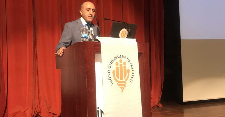 Malatya Tabip Odası, İl Sağlık Müdürlüğü ve İnönü Üniversitesi Olarak Düzenlenen 14 Mart Tıp Bayramı Programında Tabip Odası Başkanımız Dr. Öğrt. Üyesi Erol KARAASLAN, Odamız Adına Konuşmalarını Gerçekleştirdi.